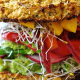 Cauliflower Bread Veggie Sandwich With Avocado Spread Recipe