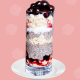 Cherry Coconut Chia Seed Pudding Parfait