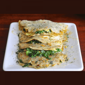Savory Vegan Crepes