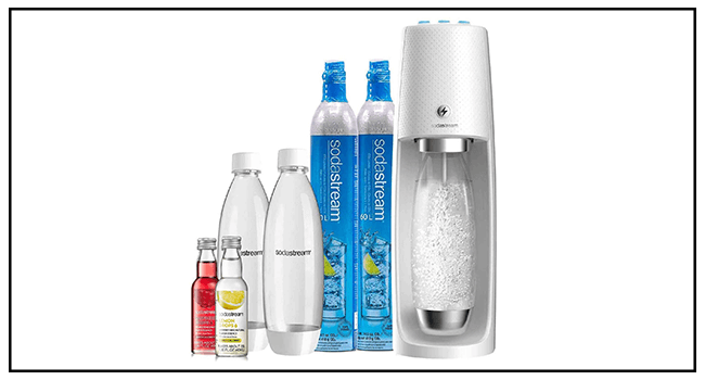 SodaStream Fizzi One Touch Sparkling Water Maker Review